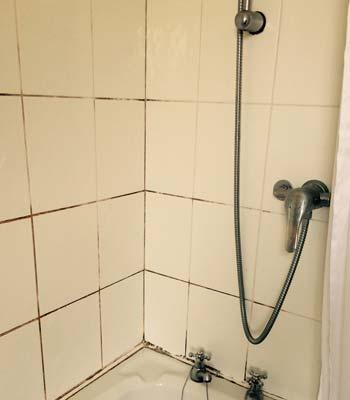 schimmel in der dusche entfernen